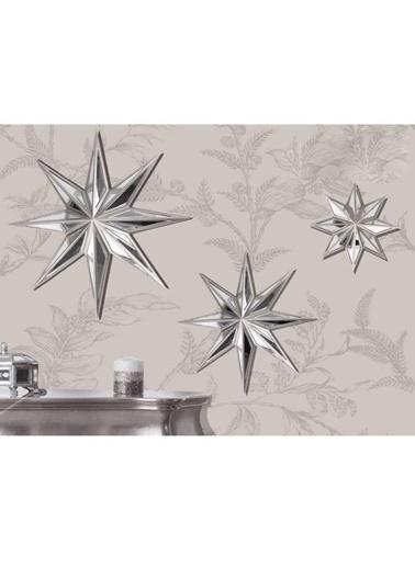 Selim Star Aynalı Pano Orta Boy Gümüş Tekli Renkli
